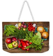 Market Fruits And Vegetables Weekender Tote Bag by Elena Elisseeva