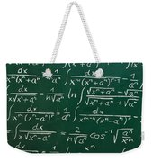 Mathematics Weekender Tote Bag