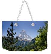 Matterhorn In Zermatt Weekender Tote Bag