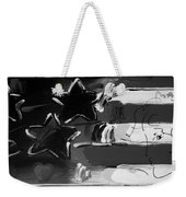 Max Americana In Black And White Weekender Tote Bag