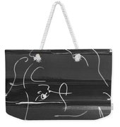 Max Woman In Negative Weekender Tote Bag
