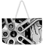 Mclaren Wheel Emblem Weekender Tote Bag
