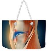 Medical Illustration Showing Weekender Tote Bag