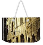Medieval Street In France Weekender Tote Bag