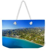 Mediterranean Sea From The Air Weekender Tote Bag