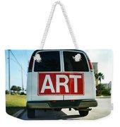 Meeting Warhol Weekender Tote Bag by Laura Fasulo