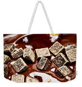 Melting Chocolate Weekender Tote Bag by Elena Elisseeva