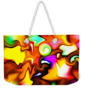Melting Colors Weekender Tote Bag