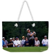 12w334 Jack Nicklaus At The Memorial Tournament Photo Weekender Tote Bag