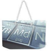 Mendelevium Chemical Element Weekender Tote Bag