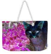 Meow 2 Weekender Tote Bag