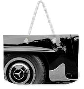 Mercedes-benz Wheel Emblem Weekender Tote Bag