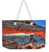 Mesa Arch Frame Weekender Tote Bag