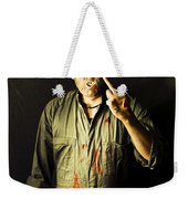 Message From Beyond The Tomb Weekender Tote Bag