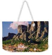 Meteora Greece Weekender Tote Bag