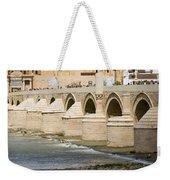 Mezquita And Roman Bridge In Cordoba Weekender Tote Bag