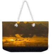 Miami Sundown Weekender Tote Bag