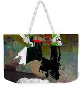 Michael Jackson Resurrected Weekender Tote Bag by Marvin Blaine