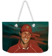 Michael Schumacher Weekender Tote Bag