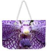 Micro Orchid Weekender Tote Bag