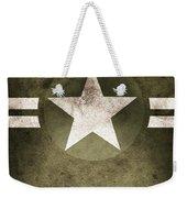 Military Army Star Background Weekender Tote Bag