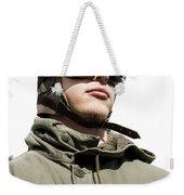 Military Man Weekender Tote Bag