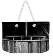 Mill Wheel Weekender Tote Bag