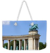Millennium Monument In Budapest Weekender Tote Bag