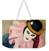 Mime With Thoughts Weekender Tote Bag