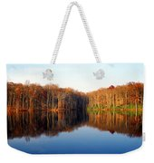 Mirror Lake Panoramic Weekender Tote Bag