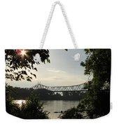 Missouri River Sunrise  Weekender Tote Bag