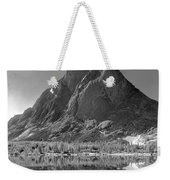 109644-bw-mitchell Peak, Wind Rivers Weekender Tote Bag