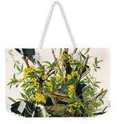 Mocking Birds And Rattlesnake Weekender Tote Bag