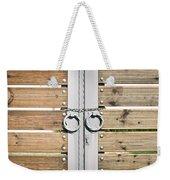 Modern Gate Weekender Tote Bag