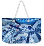 Modern Shopping Mall Interior Weekender Tote Bag