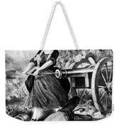 Molly Pitcher (c1754-1832) Weekender Tote Bag