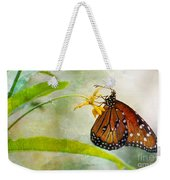 Queen Butterfly Danaus Gilippus Weekender Tote Bag