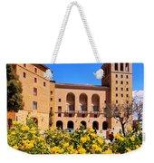 Monastery In Montserrat Weekender Tote Bag