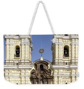 Monastery Of San Francisco - Lima Peru Weekender Tote Bag