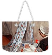 Monet's The Cradle -- Camille With Artist's Son Jean Weekender Tote Bag