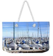 Monterey Harbor California Weekender Tote Bag