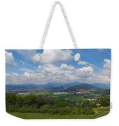 Montorfano. A View To Lake Iseo Weekender Tote Bag