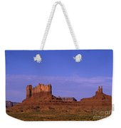 Monument Valley Arizona State Usa Weekender Tote Bag