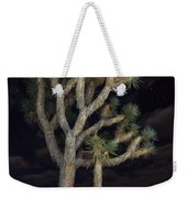 Moon Over Joshua - Joshua Tree National Park In California Weekender Tote Bag