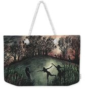 Moonlight Dance Weekender Tote Bag