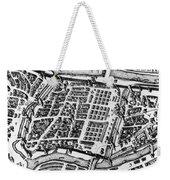 Moscow: Kitai-gorod Map Weekender Tote Bag