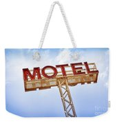 Motel Sign Weekender Tote Bag