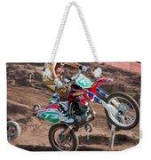 Motocross Rider Weekender Tote Bag