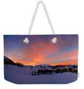 Mount Crested Butte Weekender Tote Bag