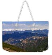 Mount Evans And Continental Divide Weekender Tote Bag